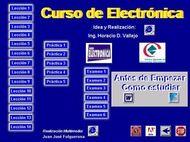 Curso de Electrónica [64 MB | CD | .EXE | PDF | Español]
